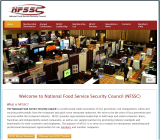 National Food Service Security Council